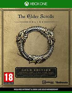 The Elder Scrolls Online Gold Edition (Xbox One) £9.99 @ Amazon Prime & GAME (+£1.99 for non prime)