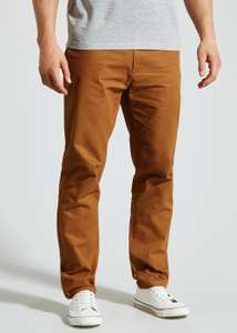 Men's brown chinos NOW £4 @ matalan,free c+c
