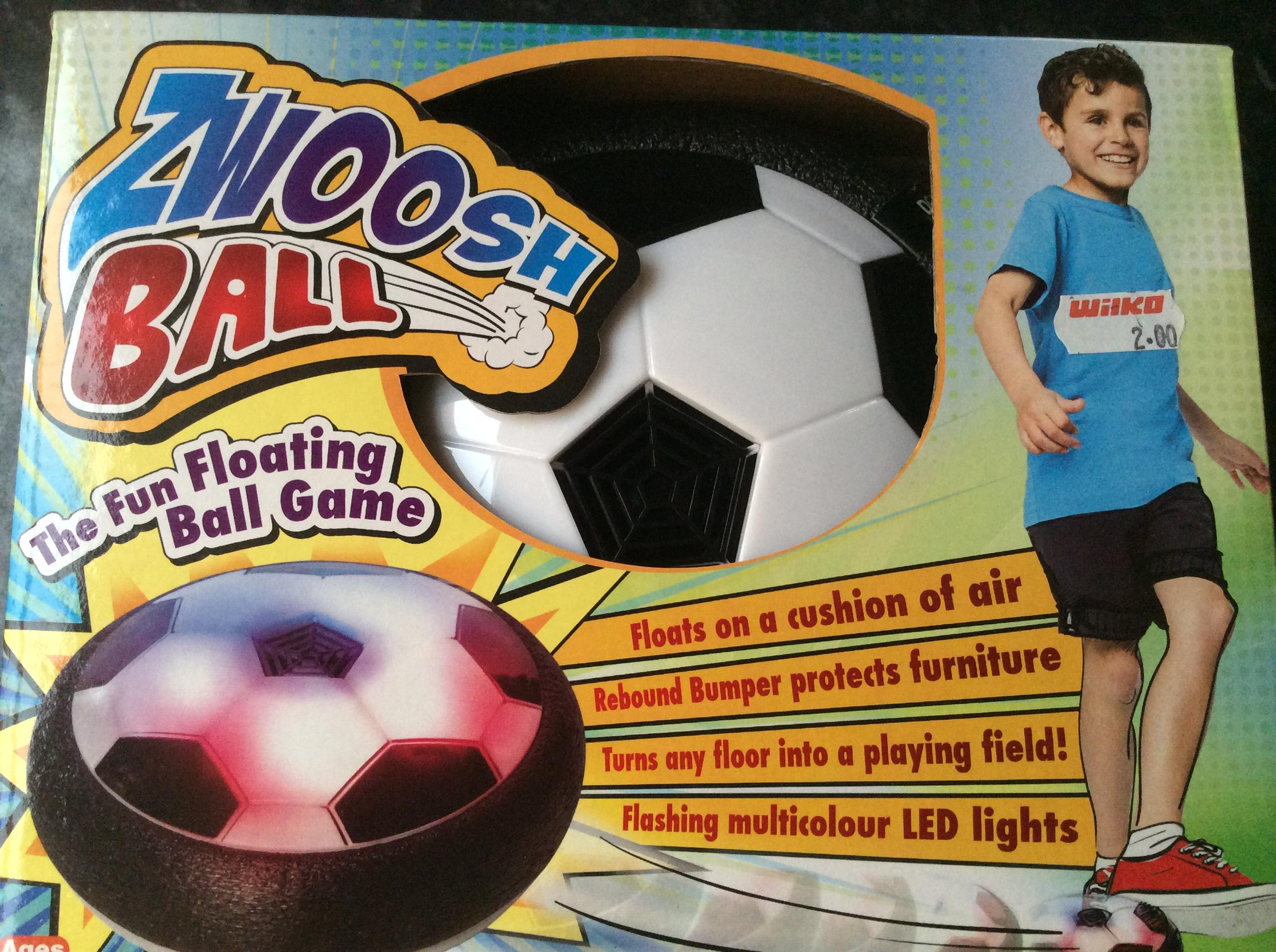 JML zwoosh ball £2 INSTORE ONLY @ Wilko