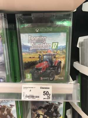 Farming Simulator 17 - £0.50 @ ASDA In Store - other PS4 / XB1 Games from £1!