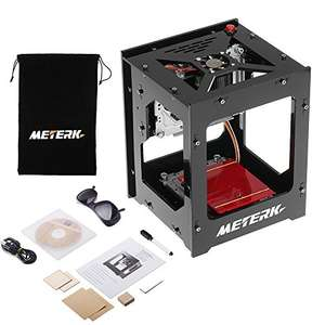 Meterk Laser Engraver Printer 1500mW Portable Household Art Craft DIY Mini Engraving Printing USB Wireless Bluetooth 4.0 Sold by ECmall and Fulfilled by Amazon for £79.79