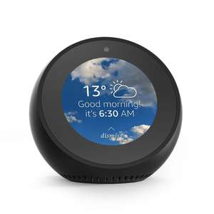 Amazon To Launch Amazon Echo Spot 'Smart Clock' - Black/White - Pre Order 2 for £199.98 with code saving £40 (£119.99 individually) - Release date 24th Jan