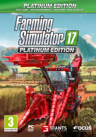 Farming Simulator 17 Platinum (PC) £16.85 inc delivery at ShopTo