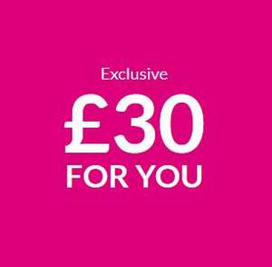 £30 off a £60+ spend at Very with a new Very Account (credit account) @ Very