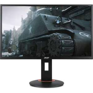 """Acer 24"""" XF240H Full HD FreeSync 1ms 144Hz Gaming Monitor £189.97 - Laptops Direct"""