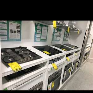 *homebase* Range of ovens and HOBS ex display STARTING AT £40 bargains to be had!!