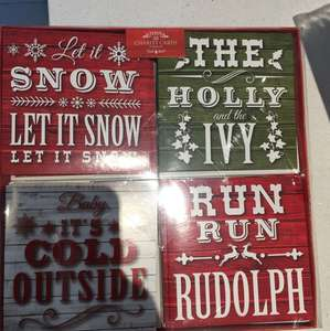 20 Xmas cards 20p at Tesco instore