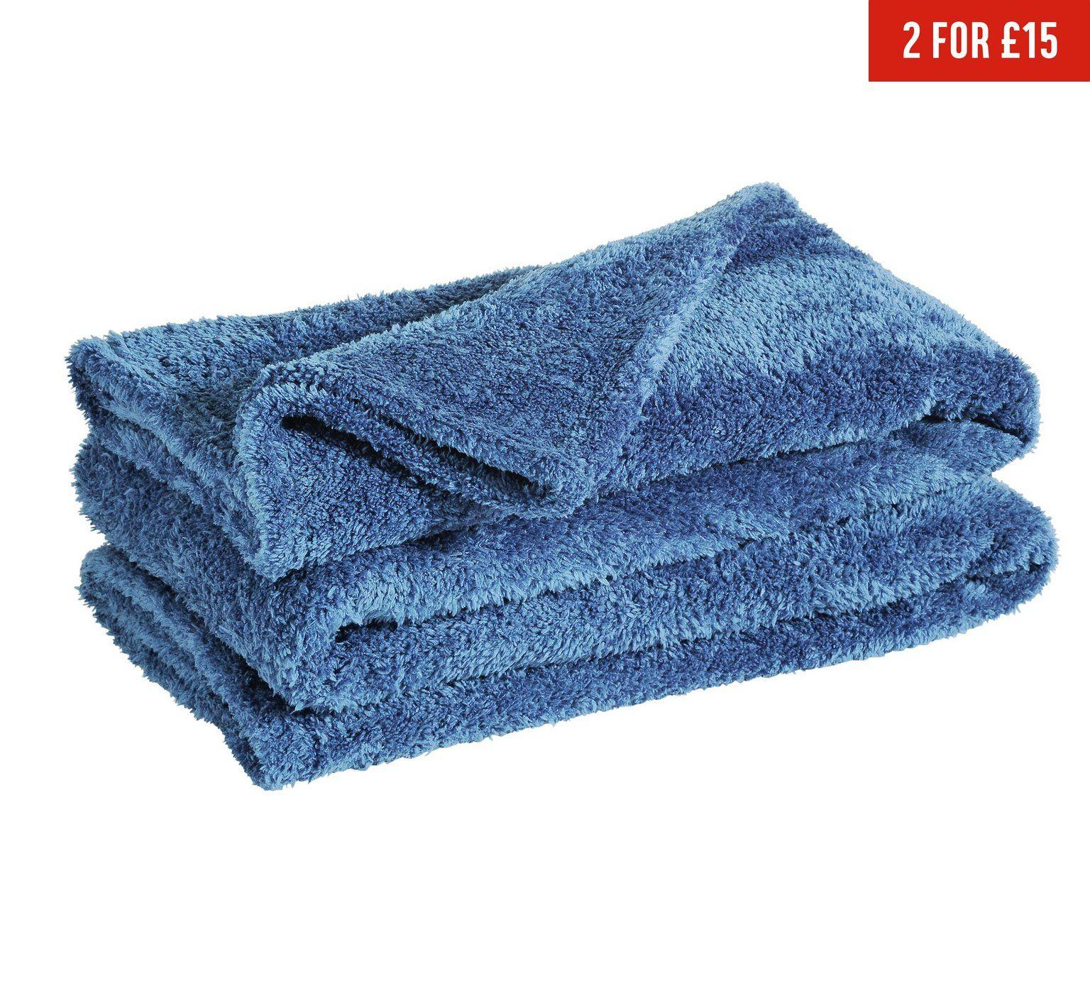 Super soft colour match throw -  Ink Blue. 1/2 price 5.99 @ Argos (black & grey oos)