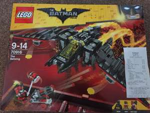 Lego Batwing 70916 reduced to £24.95 instore in Tesco