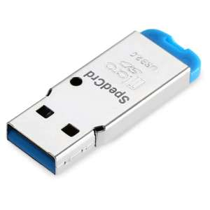 SpedCrd USB 2.0 Micro SD / TF Card Reader  -  BLUE 8p delivered w/code @ Gearbest
