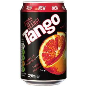 Tango Blood Orange 330ml  20p a can @ Poundstretcher