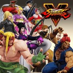 Street Fighter V Arcade Edition Bonus Costumes Free @ PSN