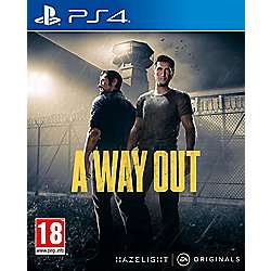 A Way Out PS4/XB1 Pre-Order Tesco Direct £22