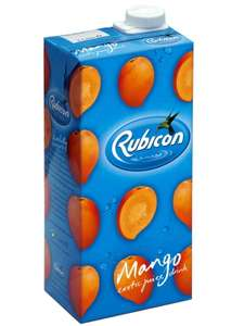 Rubicon drink 2 x 1 litre cartons for £1.50 in (Quality save) - Instore ONLY!