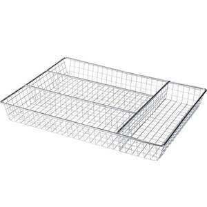 Chrome Cutlery Tray £1.99 @ Argos (free C&C)