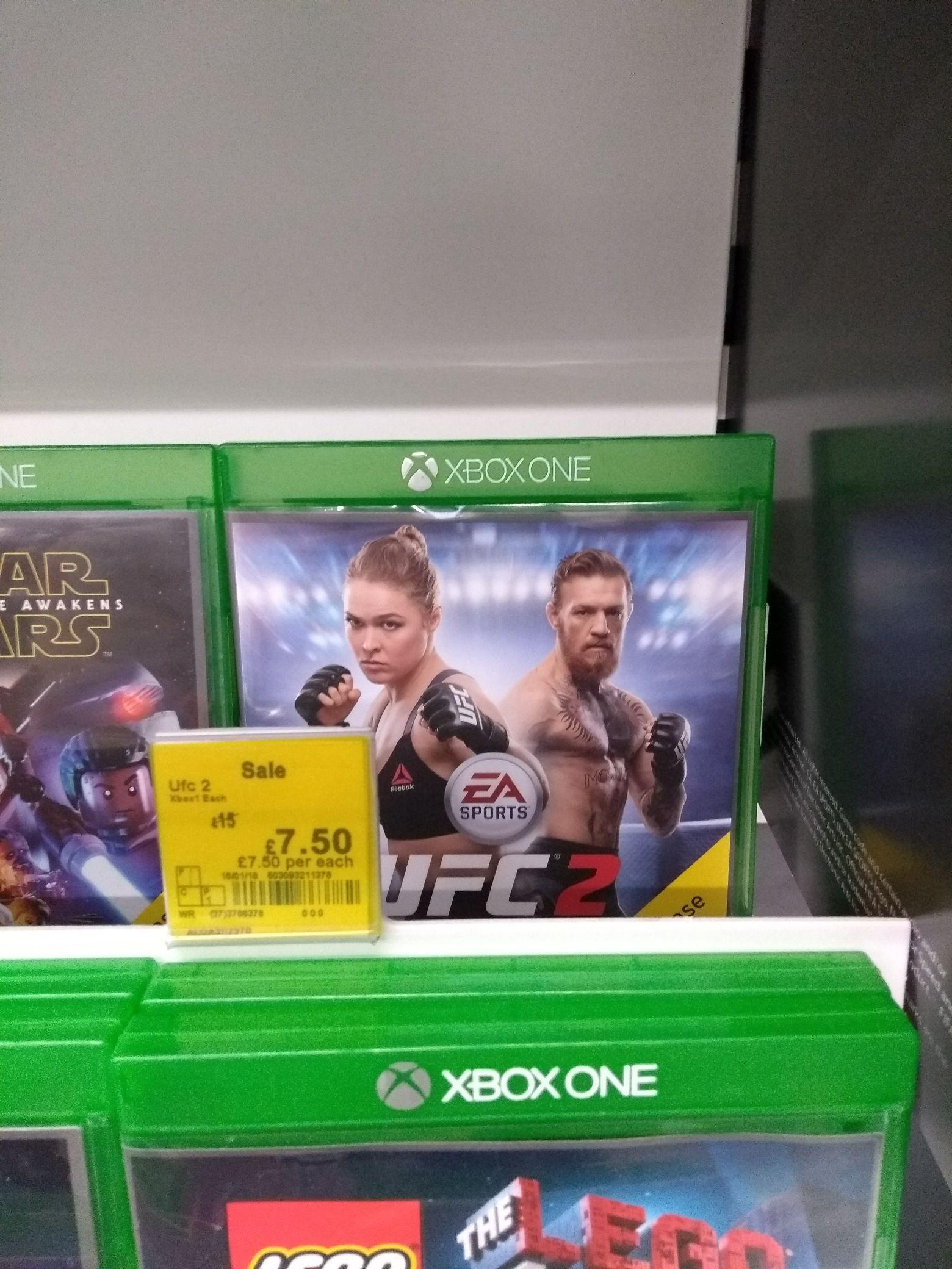 UFC 2 Xbox one £7.50 @ Asda - Chorley