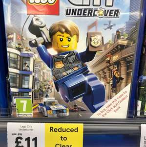 Lego City Undercover PS4 £11 in-store @ Tesco Bidston Moss