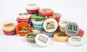 Yankee Candle 50 Assorted Wax Melt Tarts £34.00 & (£1.99 postage) RRP £89.50 @ Groupon