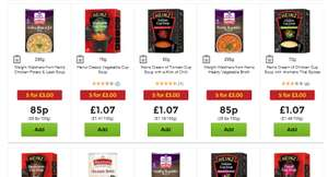 Mix & Match any 5 Soups for £3.00 @ Asda