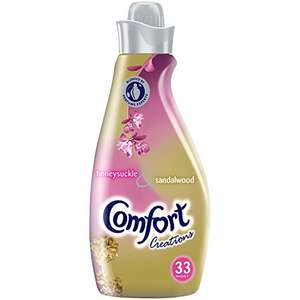 Comfort Creations Honeysuckle Fabric Conditioner,198 Washes (33 Washes x Pack of 6) Amazon Prime exclusive - S&S £5.80