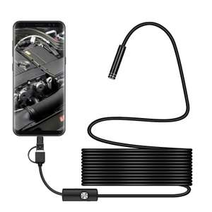 IP67 waterproof USB endoscope camera (1 metre) - £4.82 @ BangGood