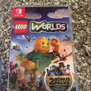 Switch Lego world £7 instore tesco cumbernauld