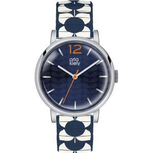 Orla Kiely Ladies Pop Multicolour Expander Bracelet Watch (was £72) Now £39 + Free Delivery + Gift Box + 2yr Warranty @ Watches2U