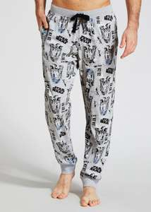 PANTS DEAL! Star Wars lounge pants £6 from 12 @ Matalan