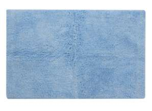 100% Egyptian Cotton Bath Mat - Pale Blue for £2.25 @ George