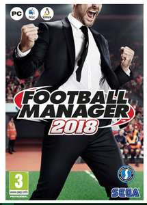 Football Manager 2018 for just £15 / £16.93 delivered @ sutton FC