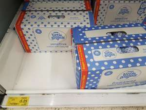 ASDA Little Angels Baby Wipes 12 pack box £5.25