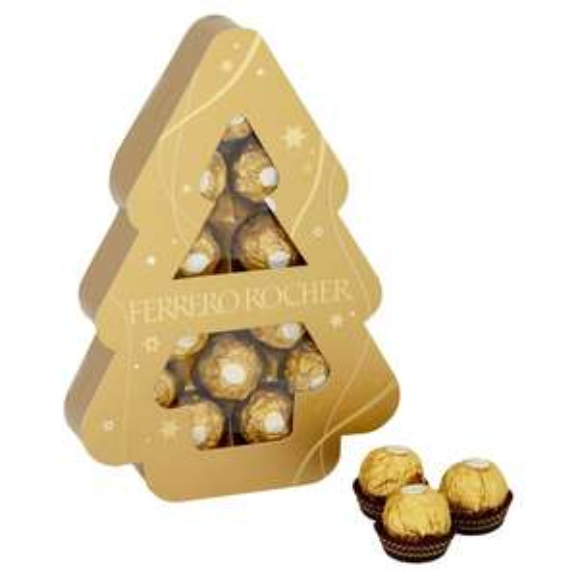 Ferrero Rocher Tree 12 Pieces 150g £2.02 @ Ocado (Clearance)