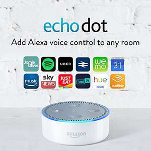 Echo Dot White £33.32 (with a little trick) @ Amazon