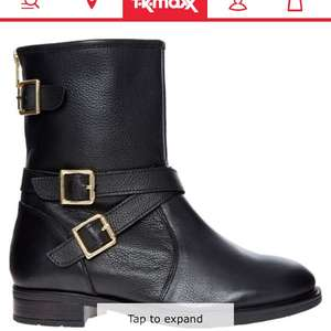 Carvela biker boots £25 Tkmaxx - £1.99 c&c now reduced again to £20