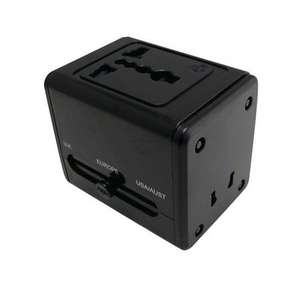 Universal Travel Adapter with USB Charger £6.99 @ Maplin