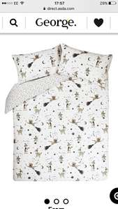 Duvet cover set with wizard magic Cats on £3.50 for single or £4 for double @ Asda - mount pleasant in Hull