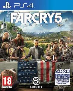 Far Cry 5 GOLD EDITION Pre-order ( PS4 & XB1 ) £59 @ Tesco