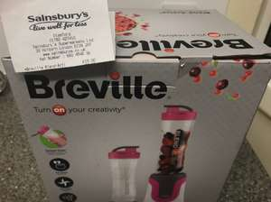 Breville Blend-Active (Pink) Sainsburys in-store. £15