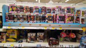 Pop vinyl figures from £5 @ tesco reduced to clear