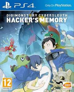 [PS4] Digimon Story: Cyber Sleuth - Hacker's Memory pre-order £34.99 @ Grainger Games (or Amazon if you have Prime for the extra £2 off)