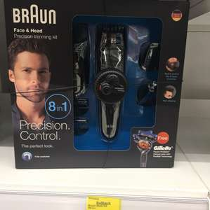 Braun set 8 in 1 mens shaver - £25 instore @ Asda (sutton)
