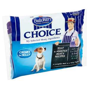 Butchers choice 4 x 100g 25p online at Morrison's