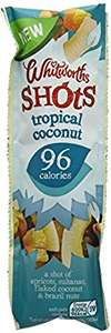 Amazon Whitworths Shots Tropical Coconut 25g (Pack of 16)  £4.03 delivered on S&S (or less if 5+ items see OP)