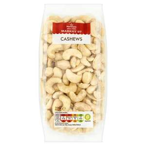 Cashew nuts 225g £1 Morrison's online plus chocolate fruit and nut selection 225g  £1