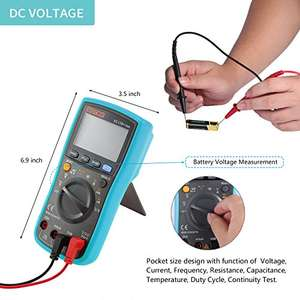 Zotek VC17B+ 6000 Count, True RMS Multimeter £9.99 Prime / £14.74 non Prime - Sold by gigglesmiles4U and Fulfilled by Amazon