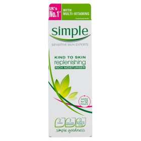 Simple Moisturiser - 125ml at Asda -£2.00. 3 for 2 offer so works out at £1.34