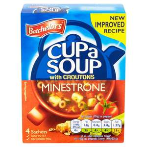 Batchelors Cup a Soup - 2 packs for £1.00 @ Morrisons - Instore & Online