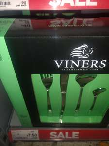 16 piece Viners cutlery set - £7.50 in-store at Asda