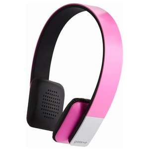 Groov-e Tempo Wireless Bluetooth Pink Headphones with Microphone - £14.24 @ MyMemory