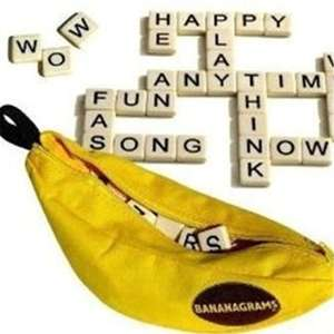 Bananagrams- Fun family game £5.47 with code at gamiss